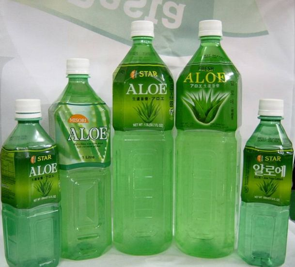 #aloevera juice I don't like the taste but they make you feel very healthy! Great if you have a cold!