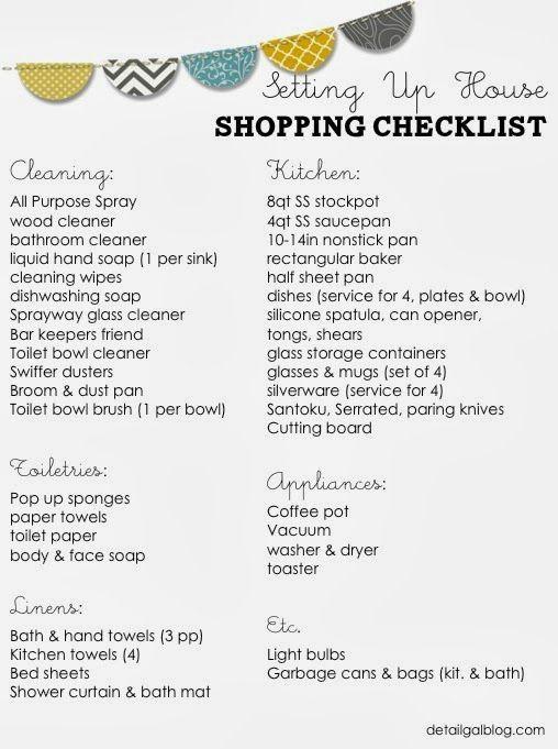 Best  New House Checklist Ideas On   Moving Checklist