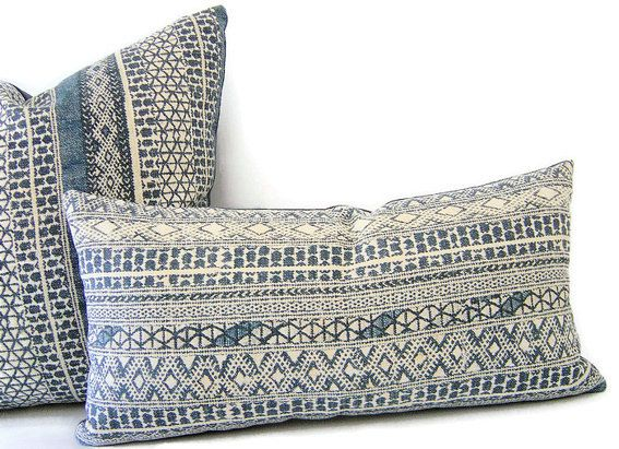 indigo pillows hakan pillows blue pillows navy pillow