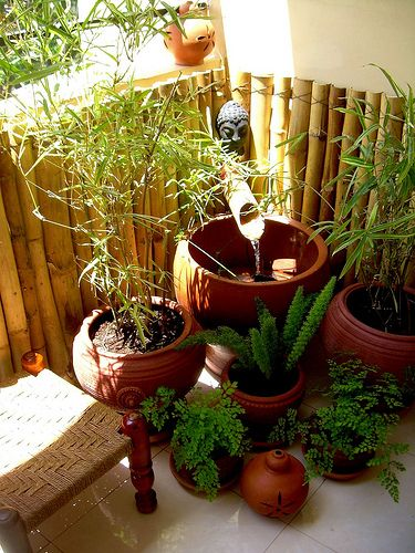 Art and Interior: SMALL SPACES: New Impressions from the Balcony Garden