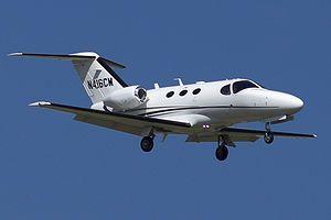Cessna Citation Mustang N416CM