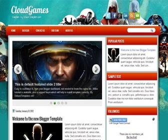 CloudGames Blogger Template | Premium Blogger Templates | Best Blogger Templates | Wordpress Themes