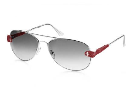 aviator scuderia ban ferrari hexagonal g gold visiofactory medium sunglasses ray en all