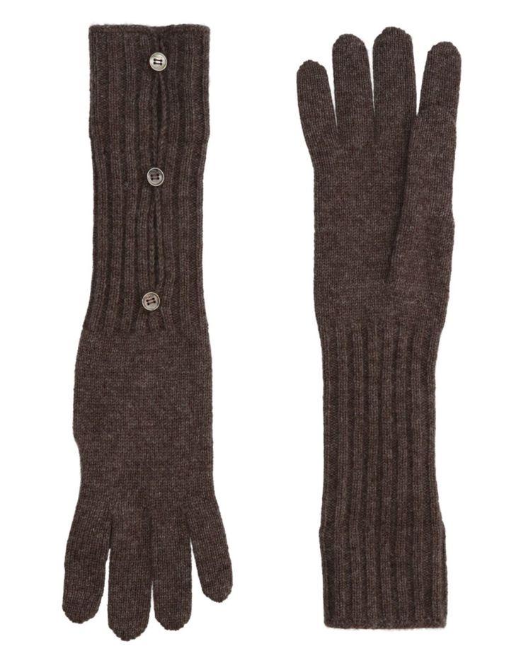 #MALO Damen Handschuhe Farbe Khaki Größe 5, 46536921DP-5