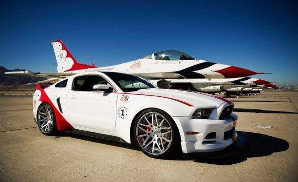 Mustang / Только машины
