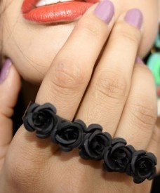 Love this.Four Finge Rings, Fingers Rings, Rosa Rings, Body Candies, Wishlist, Body Bling, Accessories, Precious Jewels, Looove Fashion