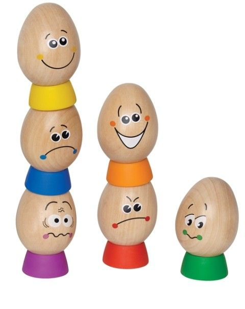 Hape | Eggspressions How are you Feeling? | Entropy I think we could all use a set of these. :-) #EntropyWishList and #PinToWin