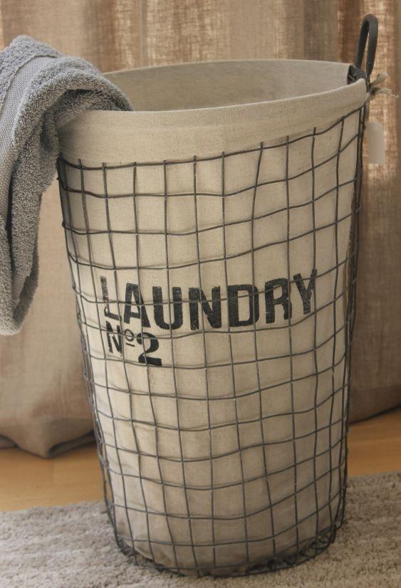 Metal Laundry Basket