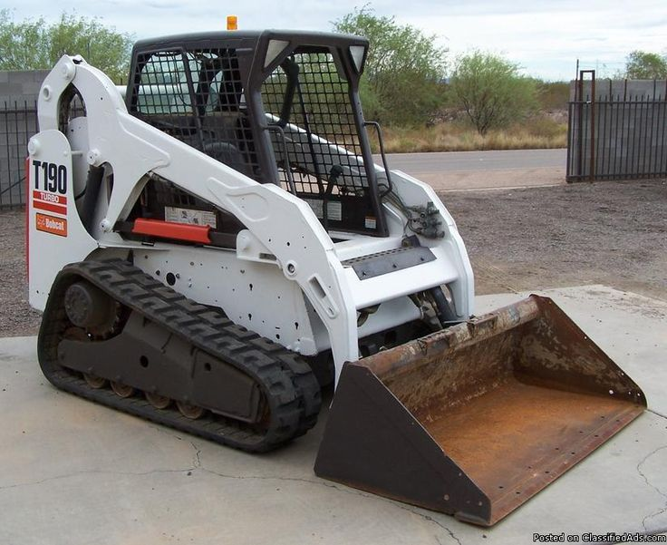 SAVE THOUSANDS COMPARED TO NEW!  2010 Bobcat T190 Track Steer - - - - ONLY 1800 Hours  National Rental Company Owned & Maintained Since New  ​Exceptional Unit - - - Turbo Diesel - - - Aux Hoses - - - No Excuse Unit!     HD TRUCKS & EQUIP LLC  10310 E Apache Trail, Apache Junction, Az 85120  Call (602) 510-5444     see www.HDTrucksAndEquipmentSales.com                 .