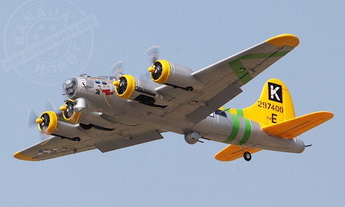 6 CH  Freewing Fuddy Duddy Oversize B-17 Bomber RC Warbird Airplane ARF www.healthylivingmd.vemma.com