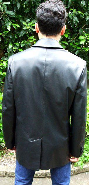 Mens Leather Blazer | Soft Leather Blazer for Men | UK
