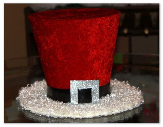 Babbo Natale top hat cappello di Natale Candy cane di partydreams