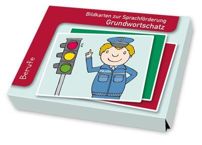 Bildkarten zur Sprachförderung - Grundwortschatz: Berufe ++ Astronaut…