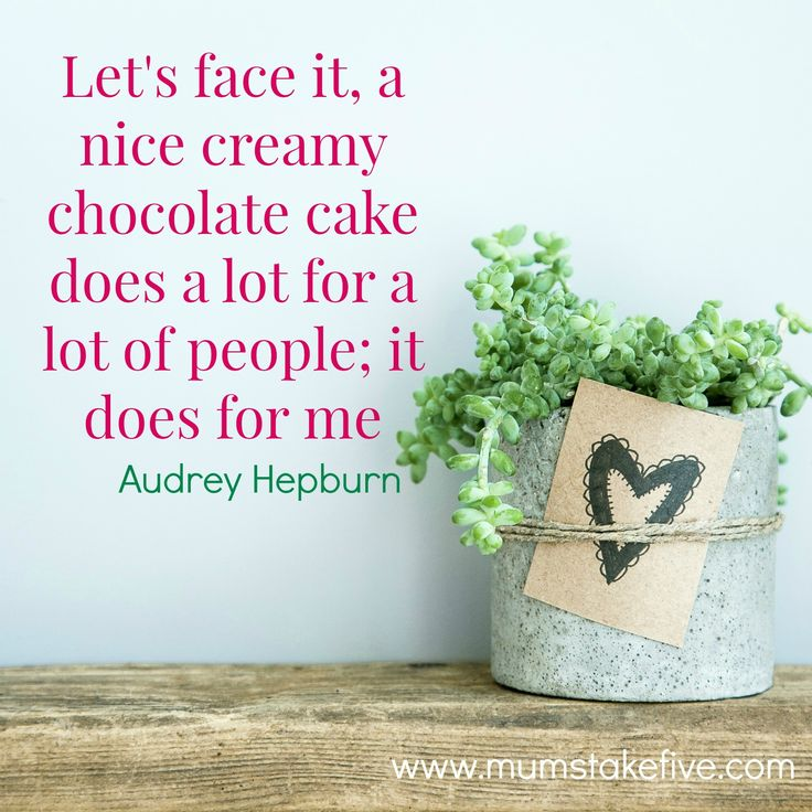 http://www.mumstakefive.com/index.php/for-mum/for-connections/382-mums-take-five-more-inspire-and-motivate-quotes  #quotes #wordofwisdom #quoteoftheday #true #life #love #mt5 #inspire #motivate #mums #wordstoliveby #cake #audreyhepburn
