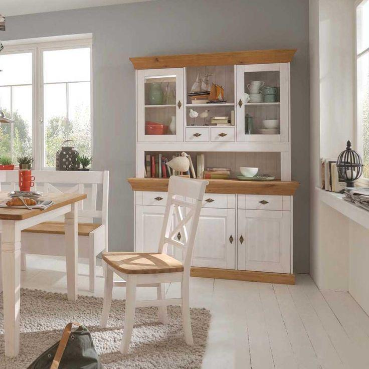 Die besten 25+ Kiefer Küchenschränke Ideen auf Pinterest Farbige - landhausstil wohnzimmer weis