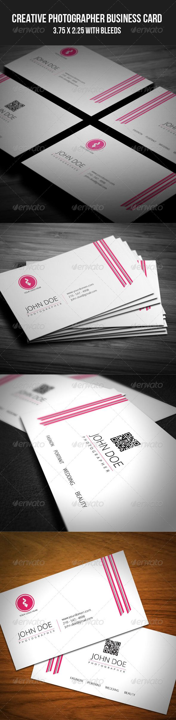 Best Modern Business Card Template Images On Pinterest - 2 x 35 business card template