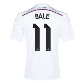 Gareth Bale Real Madrid Home Jersey 2014 – 2015, see more of our Real Madrid range at Soccer Box, http://www.soccerbox.com/81010