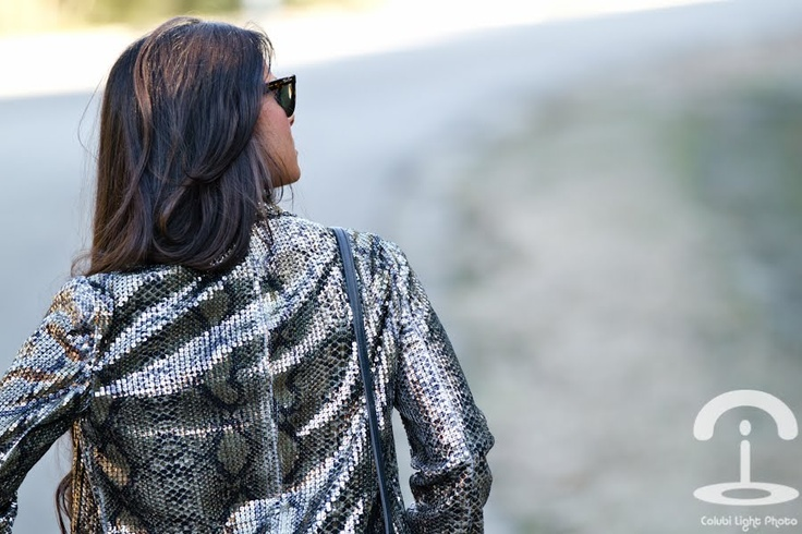 Crimenes de la Moda: Chaqueta de lentejuelas