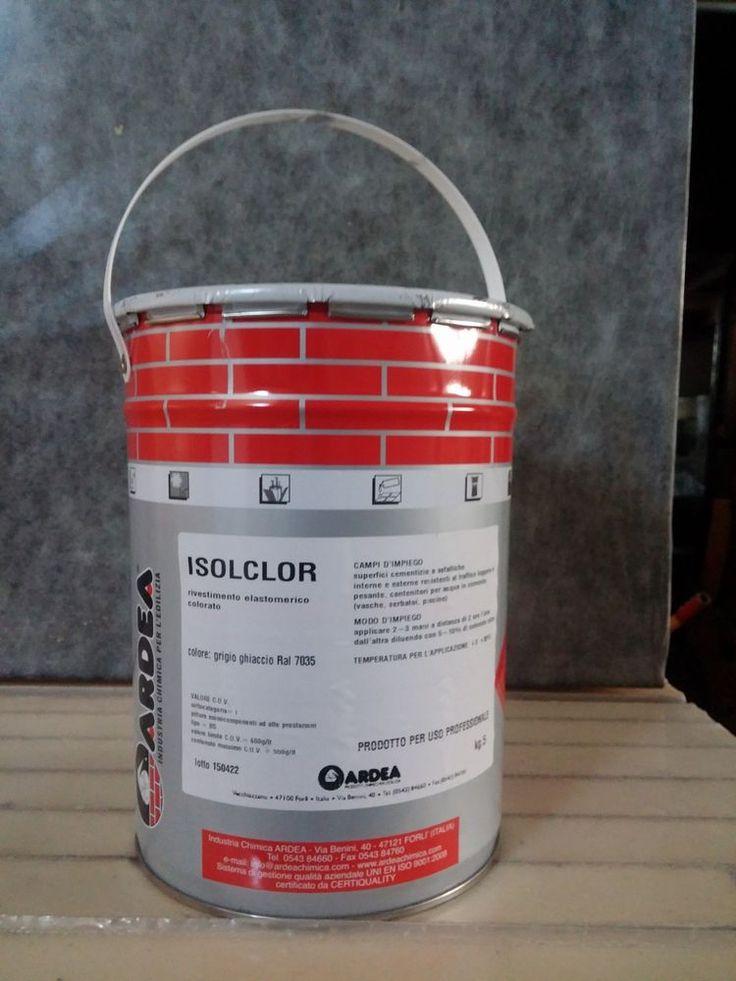 5 kg Guaina liquida pedonabile carrellabile impermeabilizzante per piscine