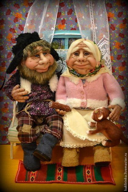 Коллекционные куклы ручной работы. Ярмарка Мастеров - ручная работа. Купить Муркино счастье. Handmade. Куклы, шапка-ушанка, капрон