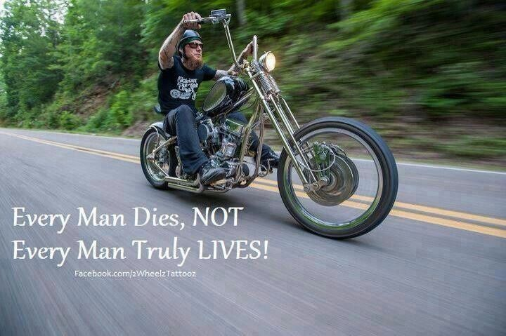 biker sayings | Live | Biker Quotes