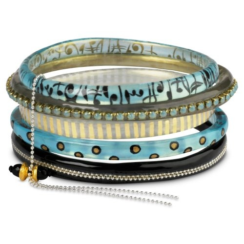 Find it at the Foundary - Blue Abyss Bangle Set