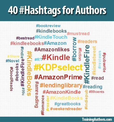 Blog post at Training Authors for Success :  We have come up with a list of hashtags for authors from our own book marketing efforts and now we want to share this list of 40 with you.[..]