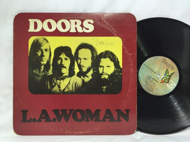 The Doors L.A. Woman Original Original Elektra Vinyl Record LP EKS 75001 / LA