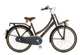 Cortina Transport U4 fiets Jeans donkerblauw 24 inch met 42 cm frame