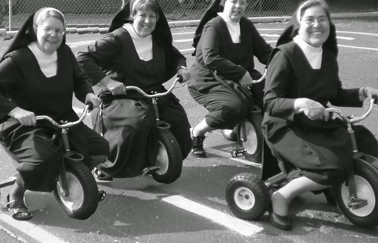 Nuns Nuns Nuns! Here are 25 Vintage Pictures of Nuns Having Fun from the 1950s and 1960s