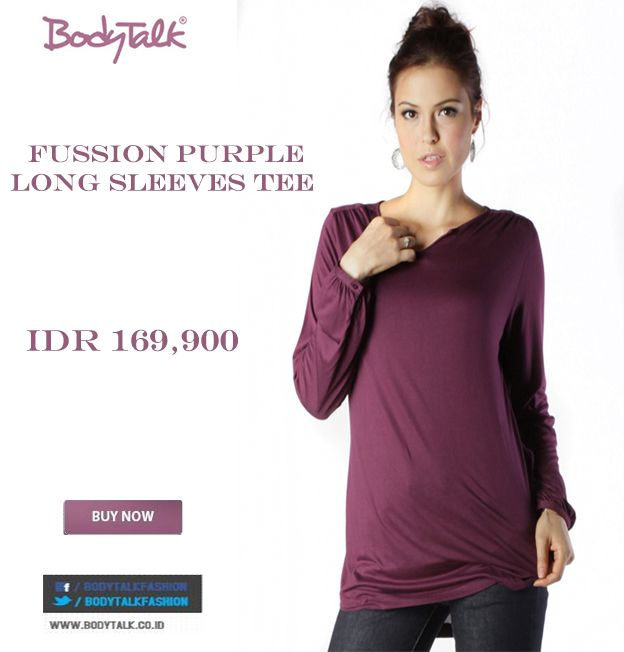 Is purple your favorite color ? Try this on ladies IDR 169,900 >> http://ow.ly/vuEG8