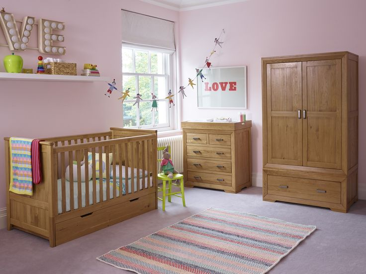 Transform your baby's nursery to a child's bedroom with our versatile, transitioning furniture from Oak Furniture Land. The Bevel range is a classic, gender-neutral look.