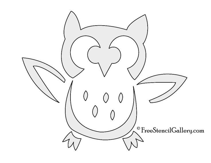 Best 25 owl pumpkin stencil ideas on pinterest owl pumpkin free printable owl stencils pronofoot35fo Images