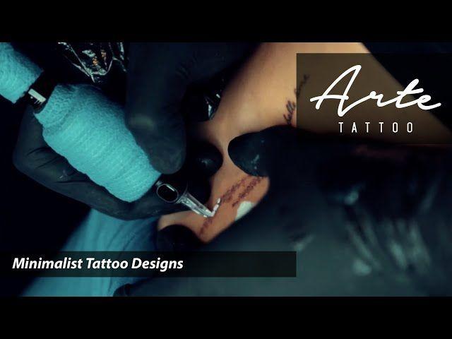 Designs de tatouage minimalistes ARTE TATOUAGE – Erica Lauren – #Arte #Designs #Erica #L …   – Tatouages