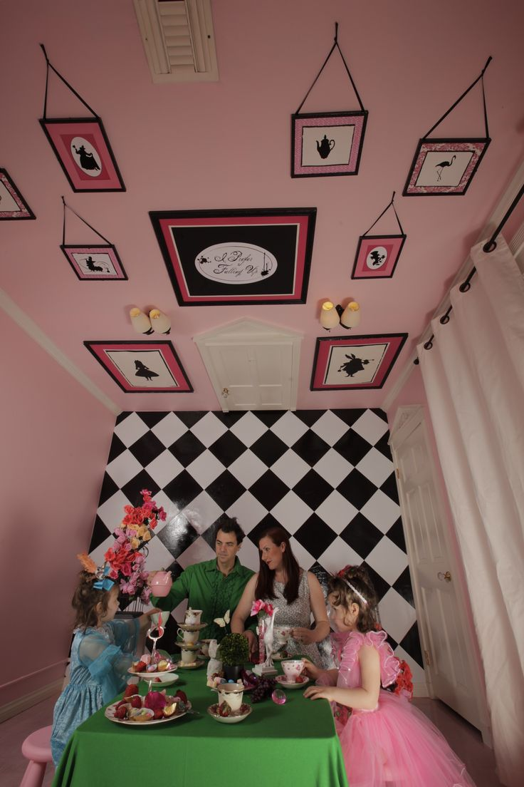 The Alice Room. I Have Been To Their House. Seriously Coolest Room Ever!!!!  | Wonderland Room | Pinterest | Alice, Room And House