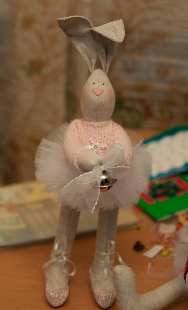 Easter ballet bunny
