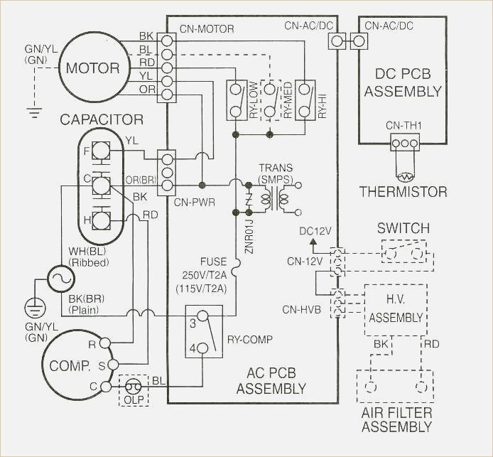 Wiring Diagram Carrier Air Conditioner Wiring Diagram Outside Ac Thermostat Wiring Ac Wiring Gas Fireplace Blower