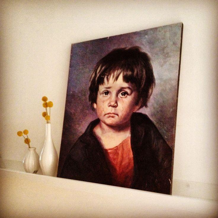Kleine zigeuner jongen. #vintage