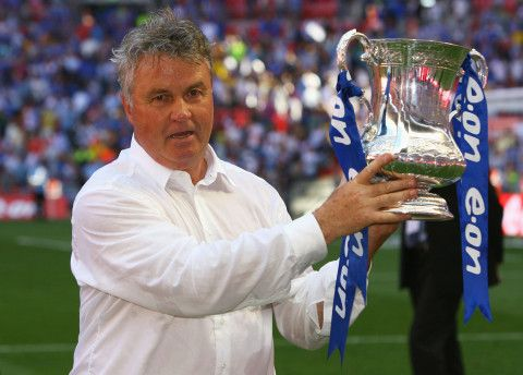 The result showed Hiddink's intent in the competition.