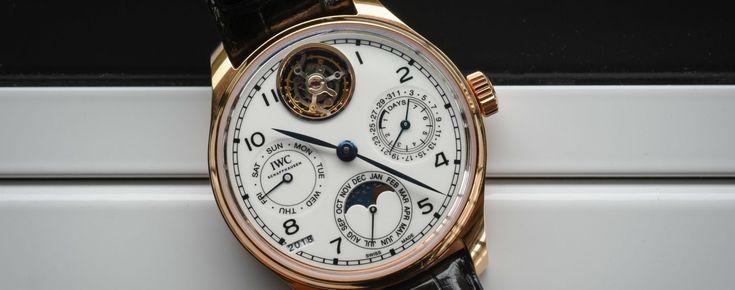 Pre-SIHH 2018 – Hands-On with the IWC Portugieser Perpetual Calendar Tourbillon Edition 150 Years