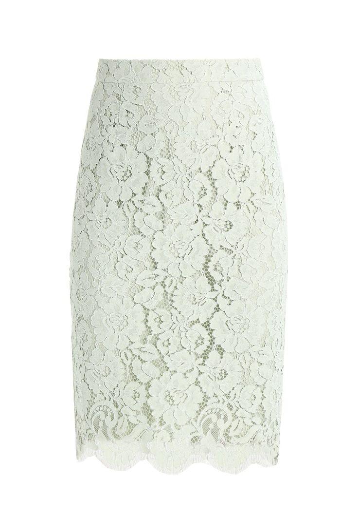 Mint lace pencil skirt | Ivy & Oak