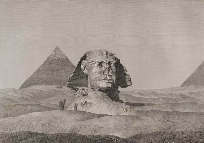 pyramids and sphinx , Egypt