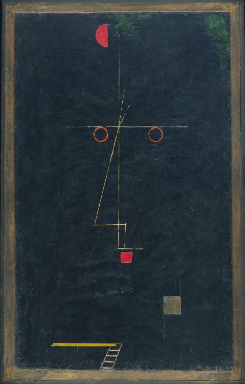 kamelpoetry:Paul Klee - Portrait of an Artist