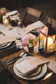 Urban chic wedding tablescape #decor   Photography: http://katieosgood.com/blog/