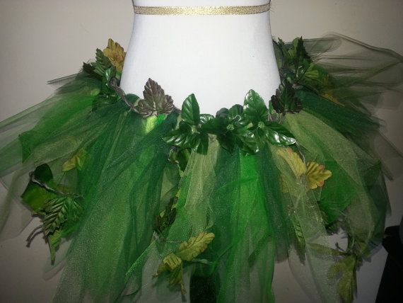 Adult Poison Ivy Costume Cosplay Dress Up by pearlsandtulle