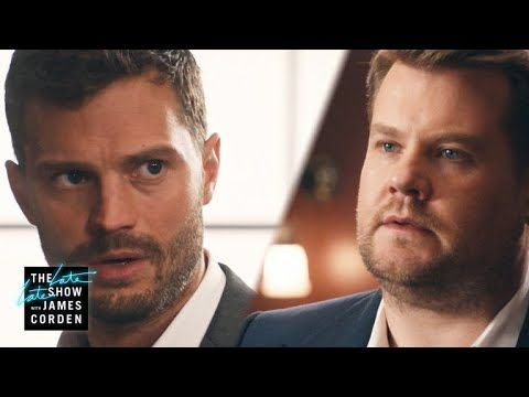 James Corden and Jamie Dornan 50 Shades of Corden Video | POPSUGAR Celebrity Australia