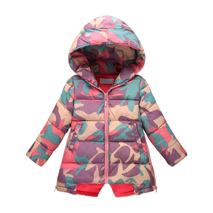 Find More Down & Parkas Information about New children 's down jacket in the long down jacket girls in children' s baby down jacket camouflage for 2 12T Kids,High Quality clothes strip,China jacket with fur men Suppliers, Cheap clothes robe from Wishmall on Aliexpress.com