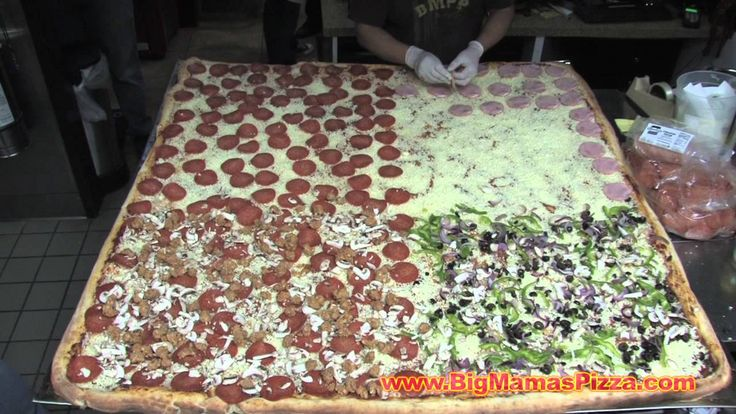 World's Largest Pizza Feeds Charities & Fundraisers, Courtesy of Big Mam...@bigmamaspizza #BMPP #GuinessWorldRecord #FoodPorn