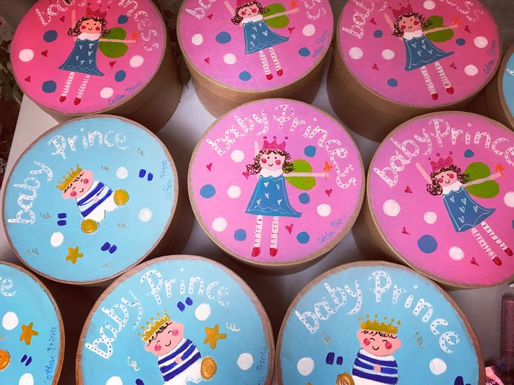 handpainted gift boxes by cottonprince.gr