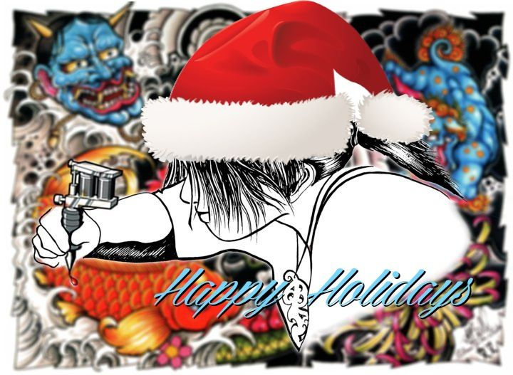 Tattoo Christmas Graphics